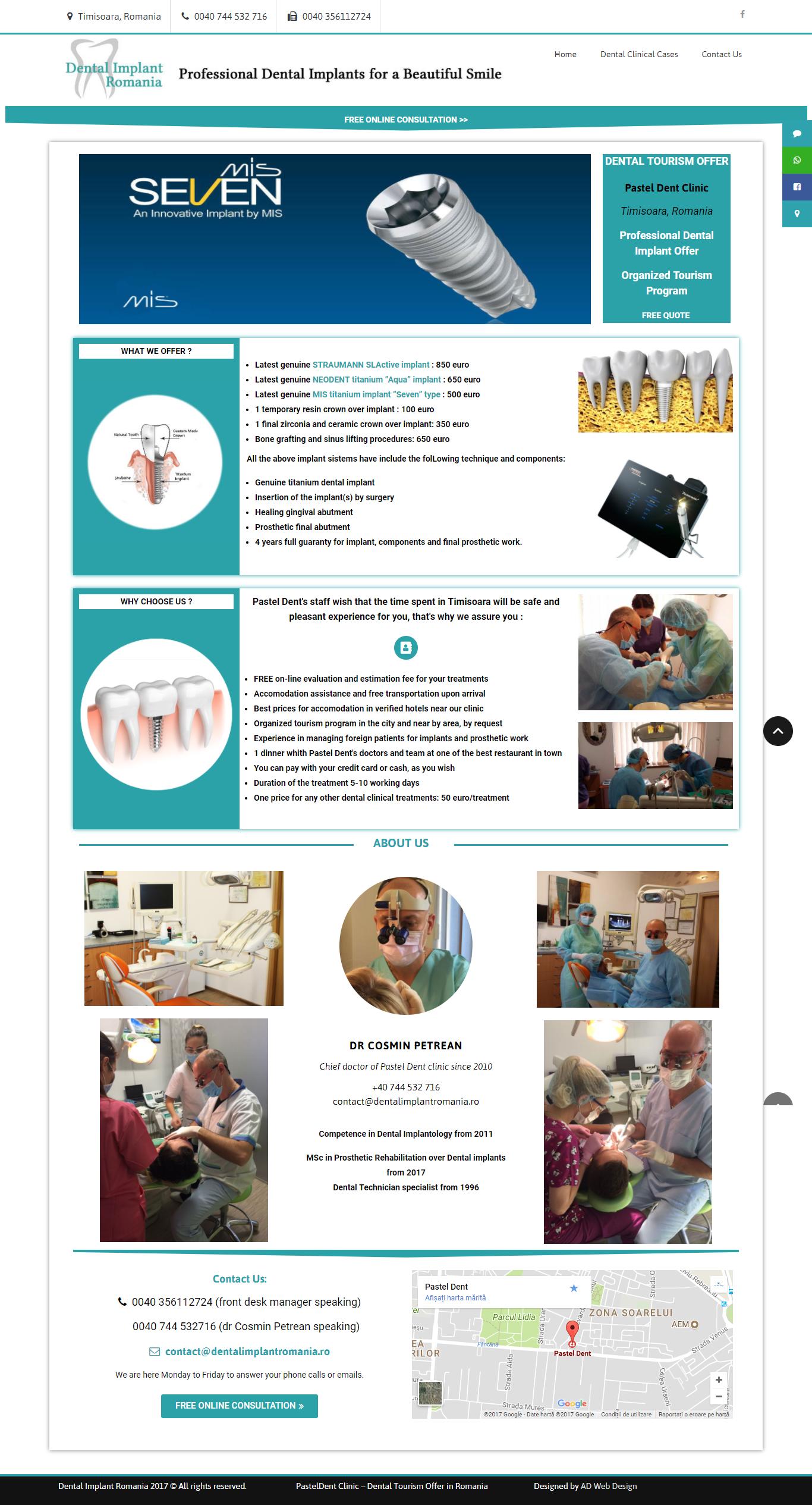Dental Implant Romania I Dental Tourism Abr_ - http___dentalimplantromania.ro_